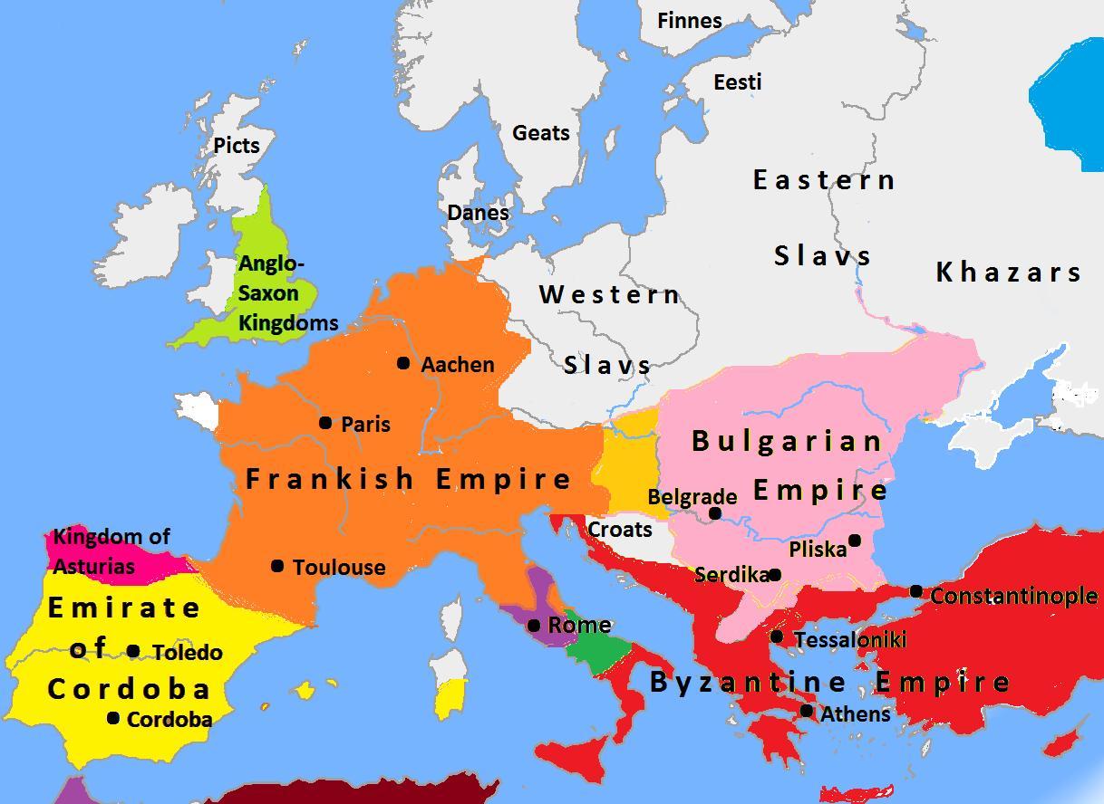 Bulgaria Harta Europa Sofia Bulgaria Hartă A Europei Europa De
